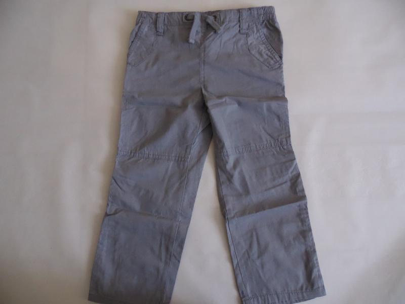 Коттоновые штаны брюки для мальчика 4-5 лет ruum