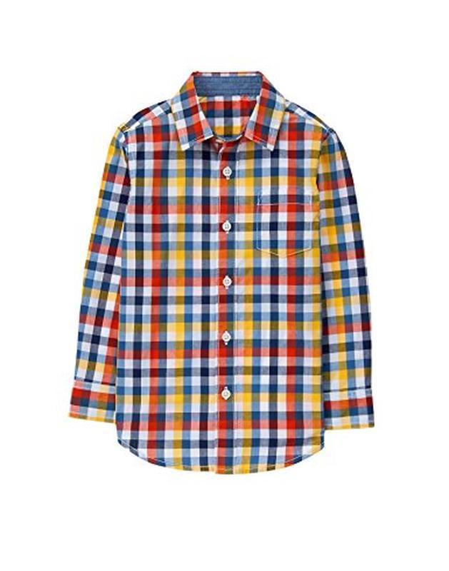Рубашка для мальчика 7-8 лет gymboree