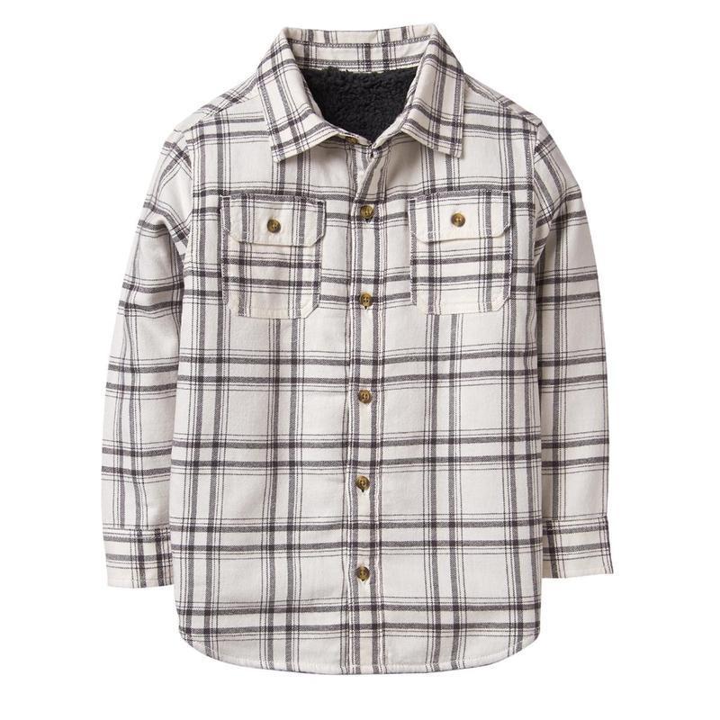 Рубашка ветровка на меховушке для мальчика 7-9 лет crazy8
