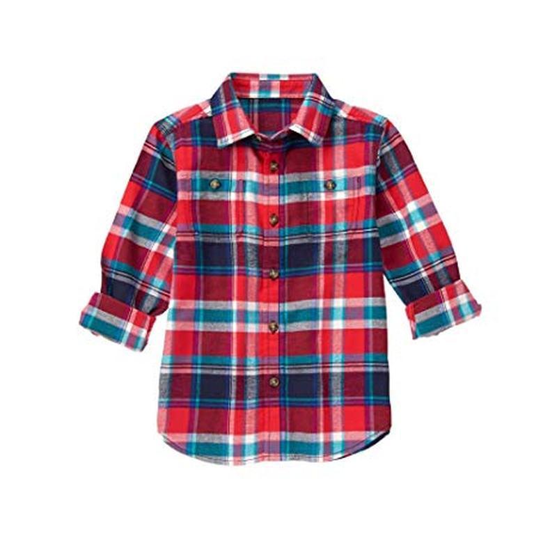 Фланелевая рубашка для мальчика 5-7 лет gymboree
