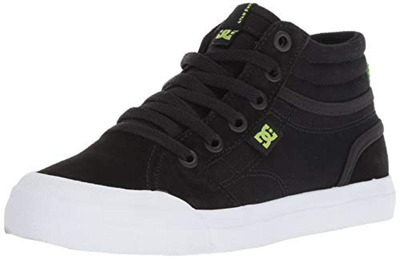 Dc shoes оригинал кроссовки для мальчика натур. замш 21.5см