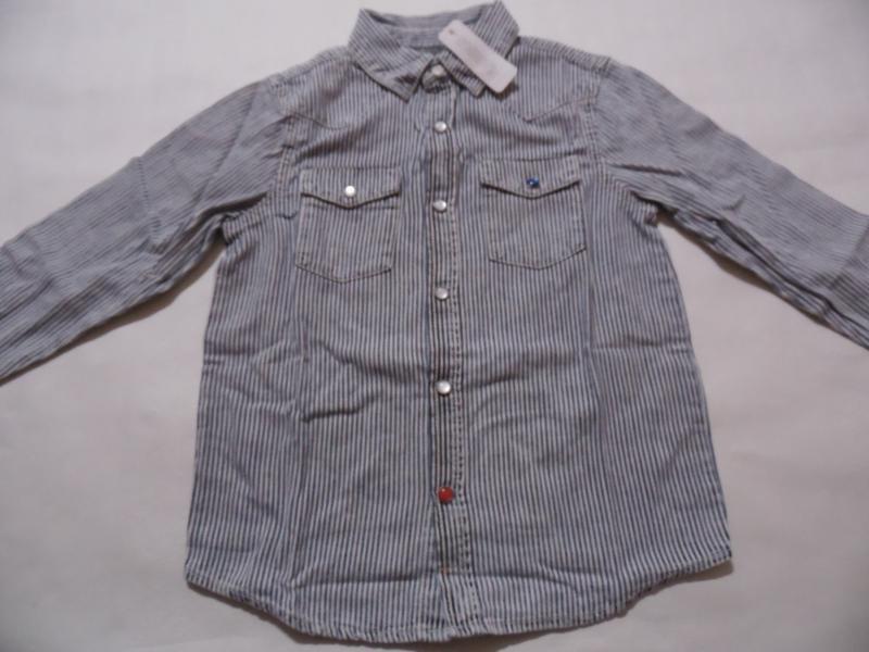 Рубашка для мальчика 5-7, 7-9 лет gymboree - Фото 2