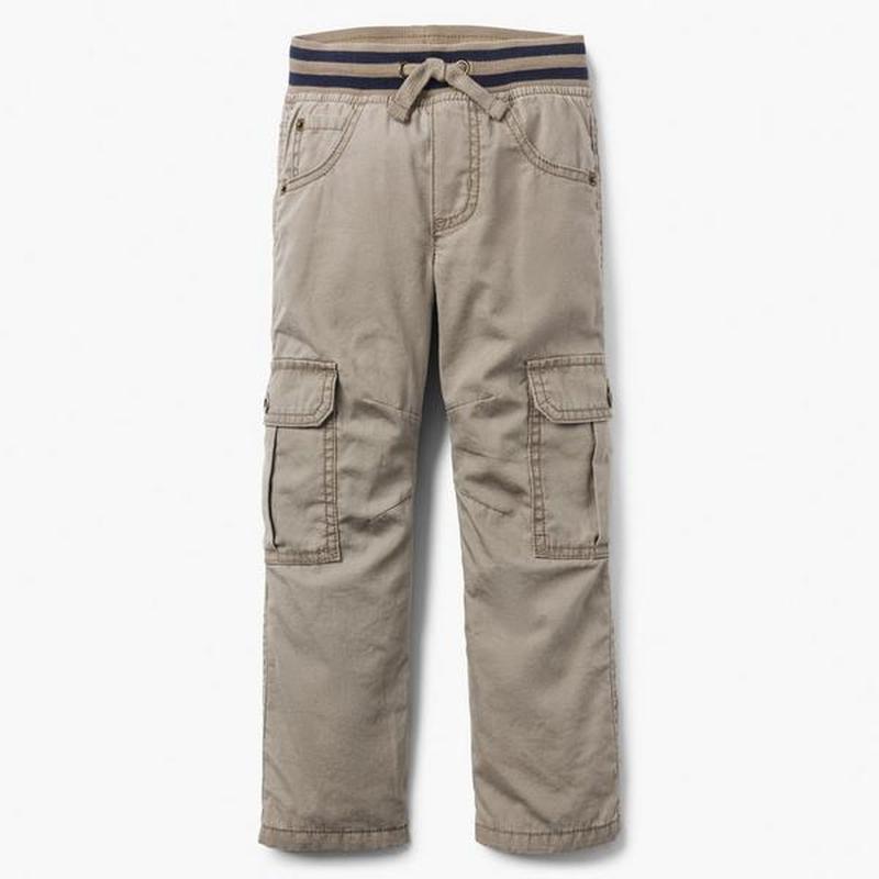 Штаны брюки gymboree для мальчика 5-6 лет на трикотажной подкл...