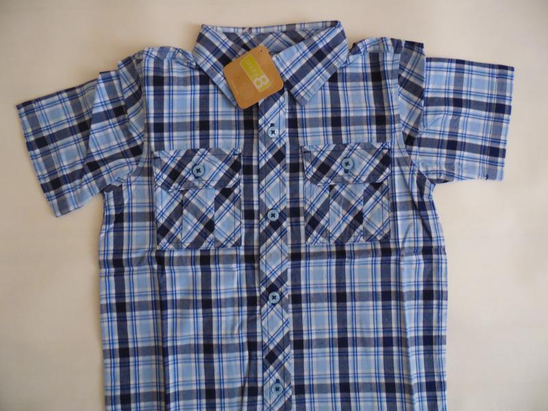 Рубашка для мальчика 3-4 года crazy8