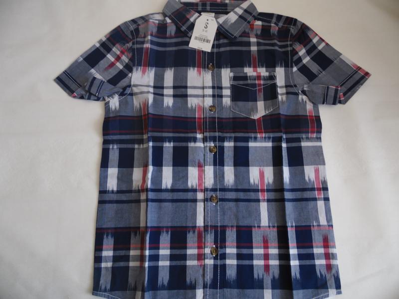 Рубашка для мальчика 6-7 лет crazy8 - Фото 2
