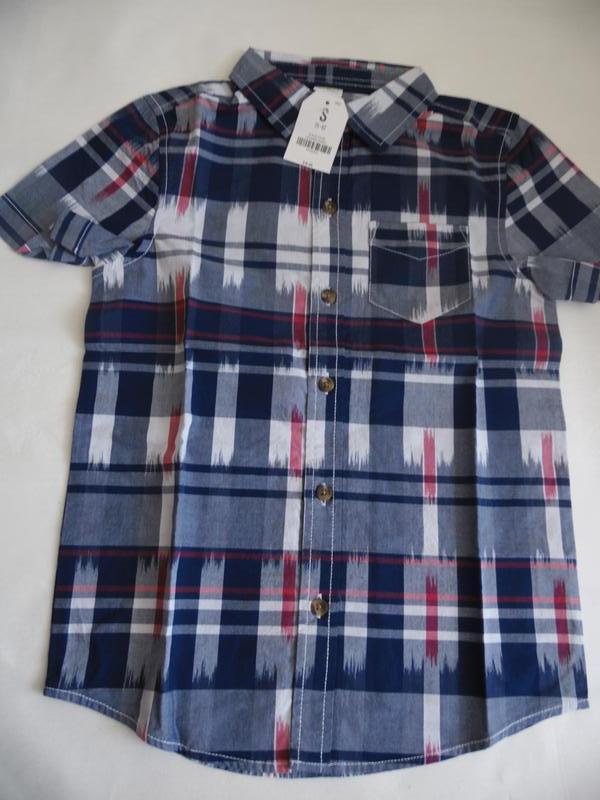Рубашка для мальчика 6-7 лет crazy8 - Фото 4