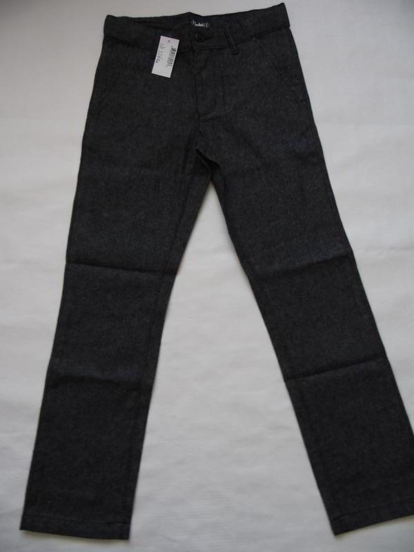 Тёплые штаны брюки для школы мальчику 8-9 лет children's place