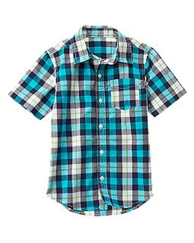 Рубашка для мальчика 8-9 лет crazy8