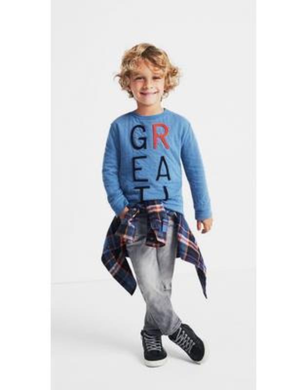 Фланелевая рубашка для мальчика 4-6, 7-9 лет gymboree - Фото 2
