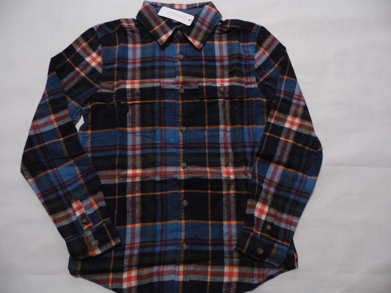 Фланелевая рубашка для мальчика 4-6, 7-9 лет gymboree - Фото 4