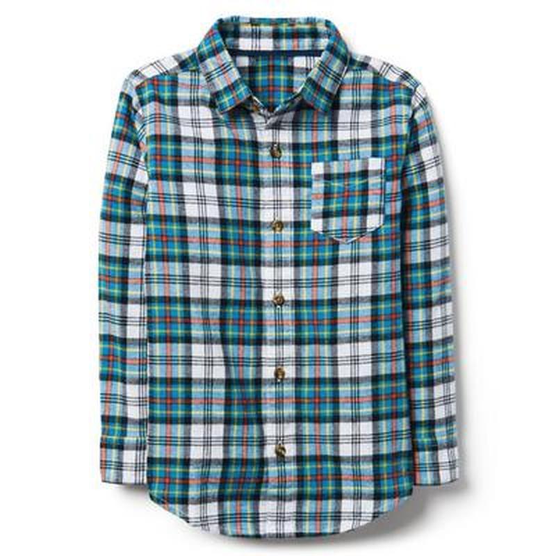 Фланелевая рубашка для мальчика 14-16 лет crazy8