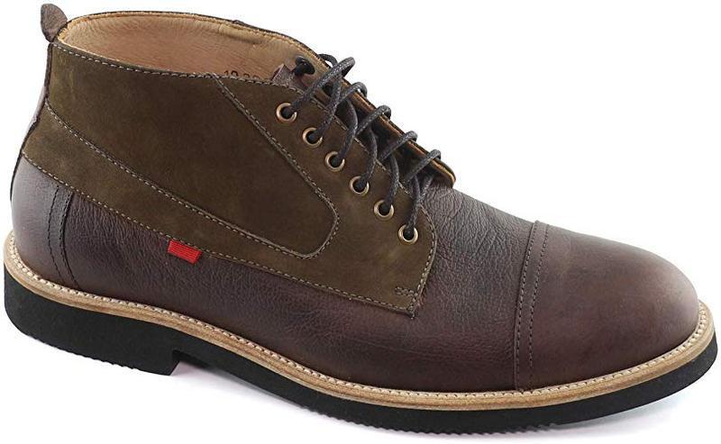 Мужские кожаные ботинки marc joseph new york оригинал размер 8м