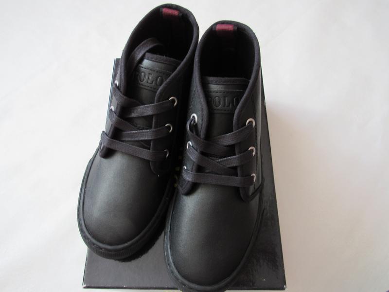 Ботинки polo ralph lauren для мальчика 32.5 eur