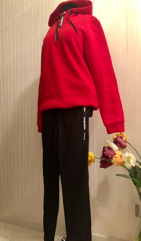 Спортивный утепленный костюм женский - Фото 2