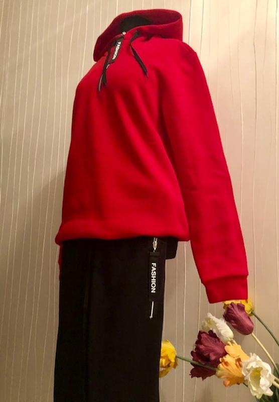 Спортивный утепленный костюм женский - Фото 8