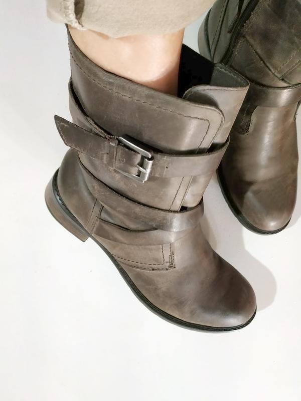Сапоги ❄️ полу сапоги теплые clarks, на обувь и вещи снижена ц...