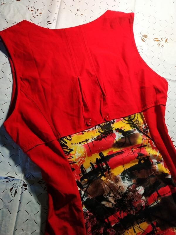 Оригинальное платье сарафан franstyle - Фото 5