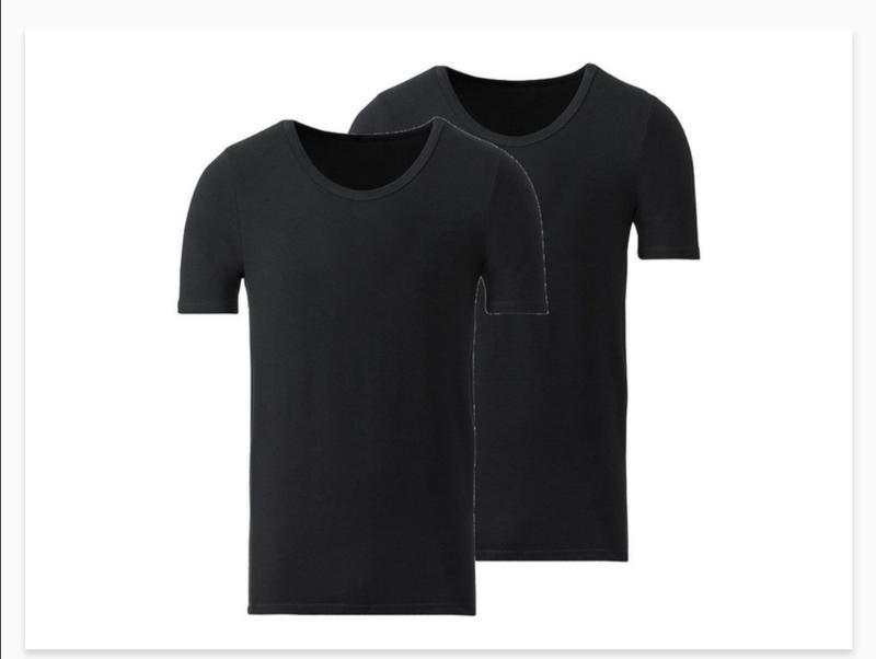 Комплект нательных футболок livergy большой размер 3хл