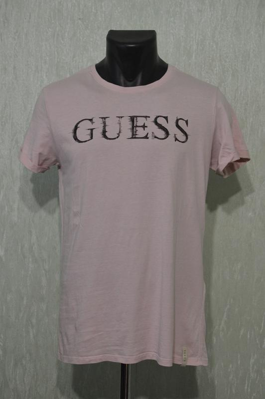 Футболка guess logo glitch rose m72i56 i3z00