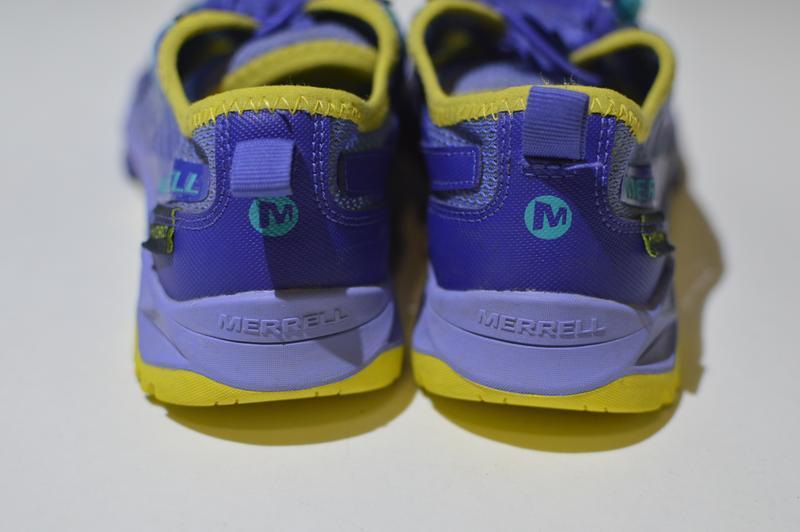 Кроссовки merrell little girls hydro run blue water sneaker mc... - Фото 2