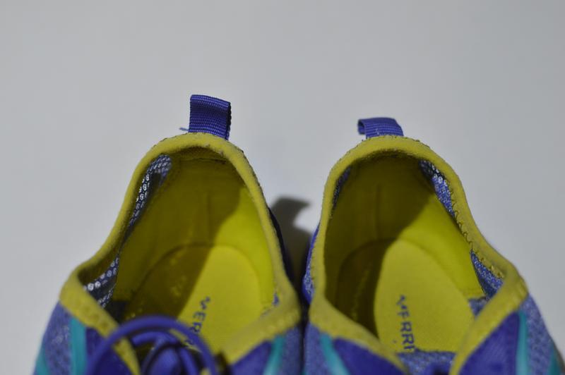 Кроссовки merrell little girls hydro run blue water sneaker mc... - Фото 3
