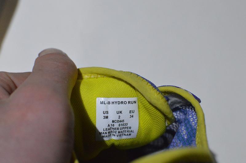 Кроссовки merrell little girls hydro run blue water sneaker mc... - Фото 4