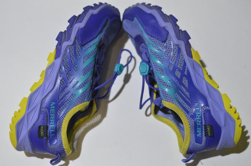 Кроссовки merrell little girls hydro run blue water sneaker mc... - Фото 5