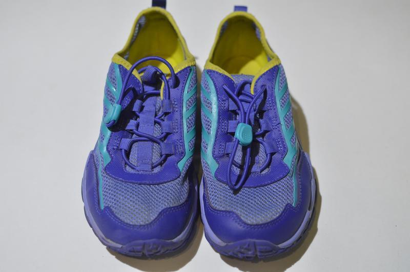 Кроссовки merrell little girls hydro run blue water sneaker mc... - Фото 7
