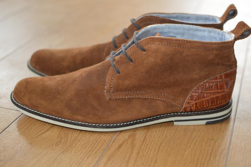 Кожаные ботинки, дезерты p.i.u.r.e