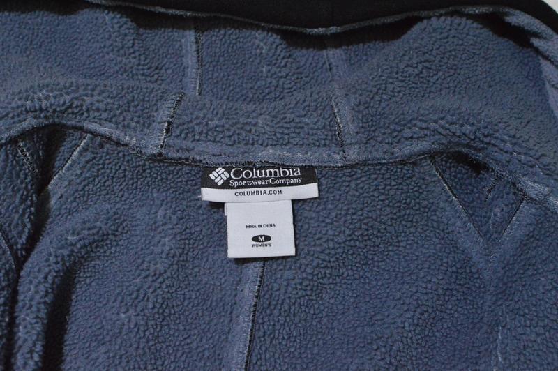 Флисовая куртка, флис columbia full-zip fleece jacket w el6864 - Фото 4