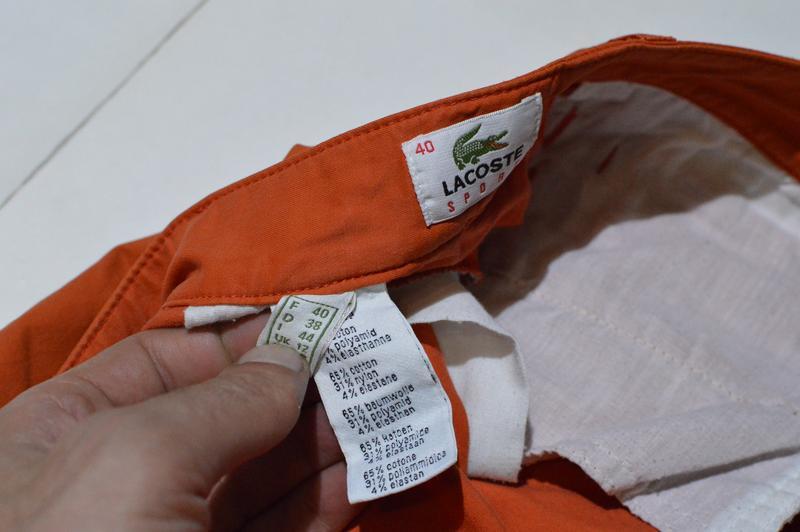 Шорты lacoste sport f 6733 chino shorts - Фото 5
