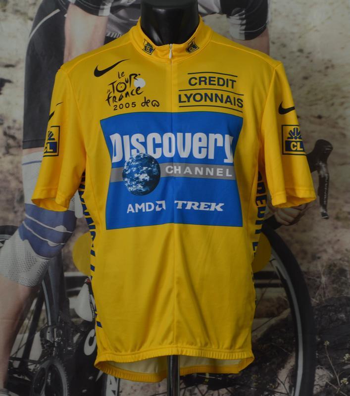 Веломайка, велоджерси nike tour de france discovery channel 2005