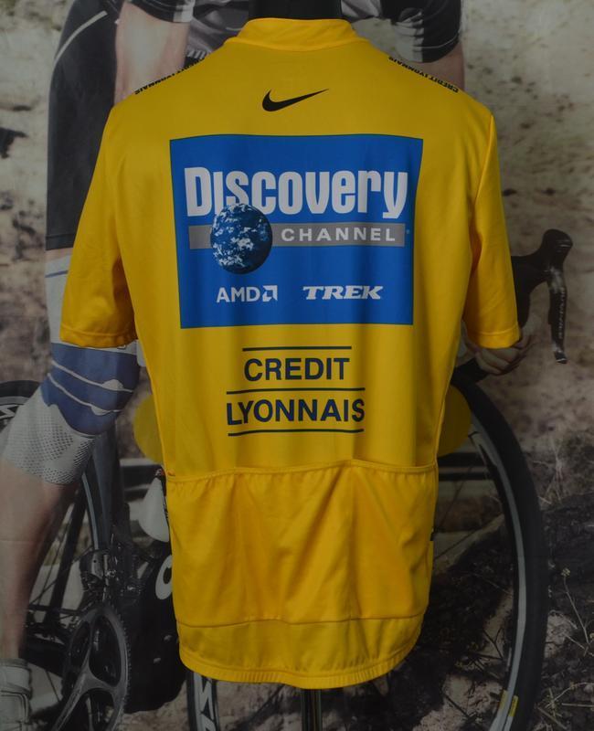 Веломайка, велоджерси nike tour de france discovery channel 2005 - Фото 2