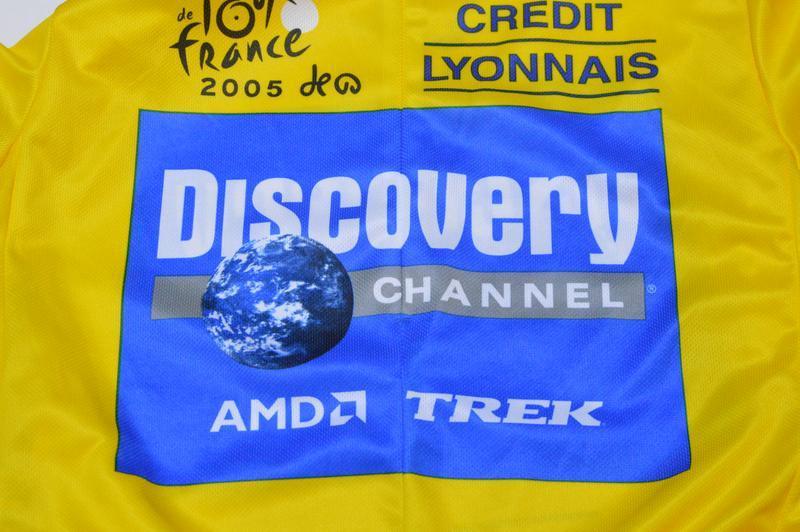 Веломайка, велоджерси nike tour de france discovery channel 2005 - Фото 3