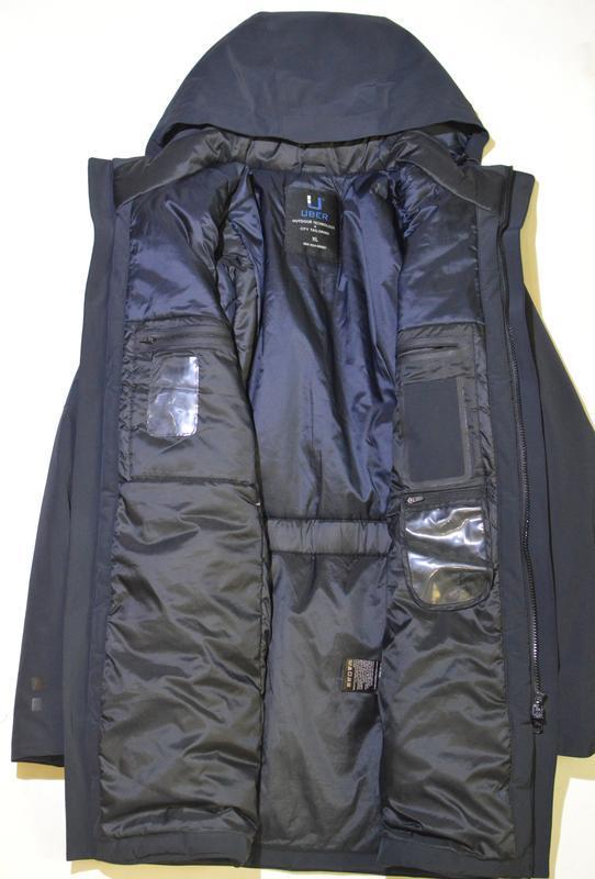 Куртка, парка uber outdoor technology + city tailoring regulat... - Фото 3