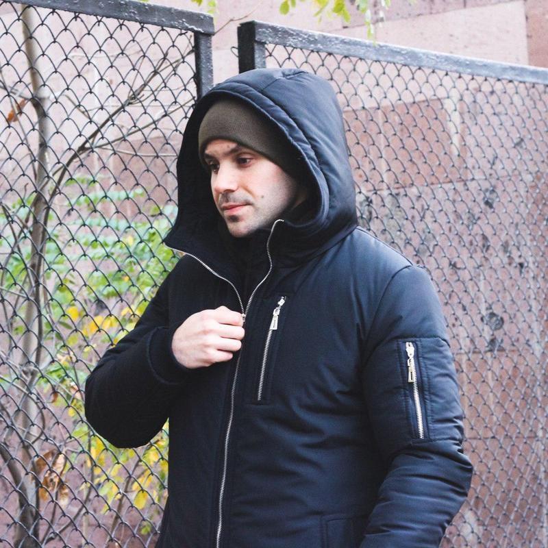 Мужская зимняя куртка - Фото 8