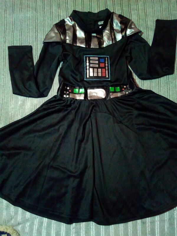Карнавальное платье на девочку. 9-10 лет. star wars
