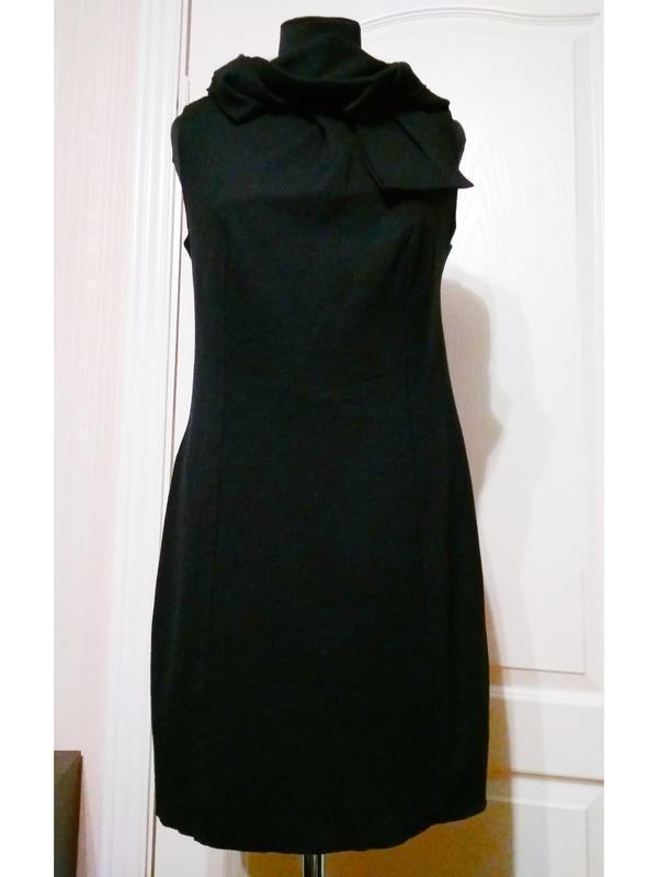 Cos необычное брендовое платье сукно