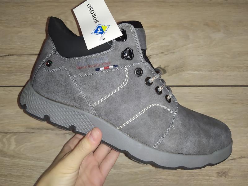 Зимние ботинки мужские классика зимові чоловічі полуботинки