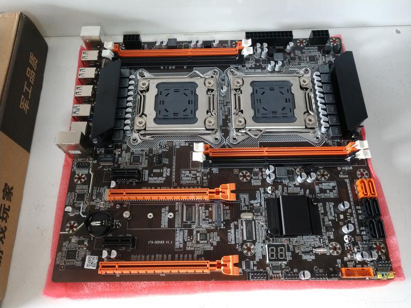 Комплект Atermiter X79 Dual +2х  2650v2 (Два процессора)