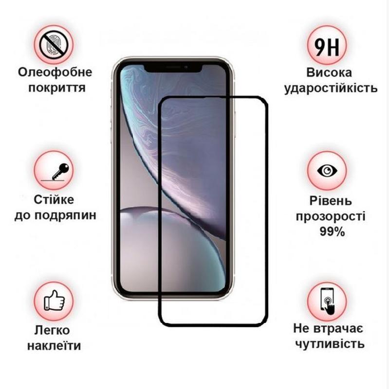 Защитное стекло для Apple iPhone 11 Black