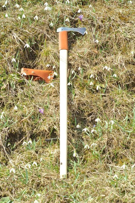 Гуцульський топірець, валашка, бартка, сокира топор axe hatchet - Фото 4