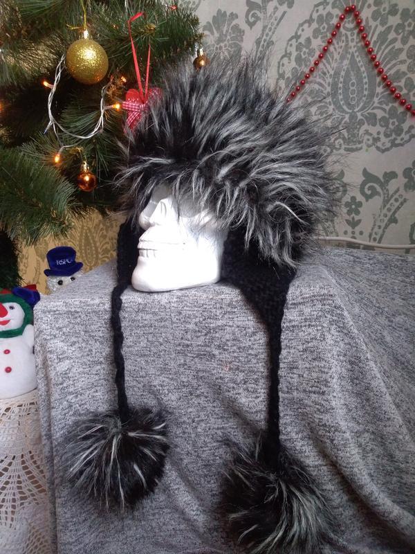❗❗❗акция действует при покупке двух вещей❗❗❗ шапка ушанка  вяз...