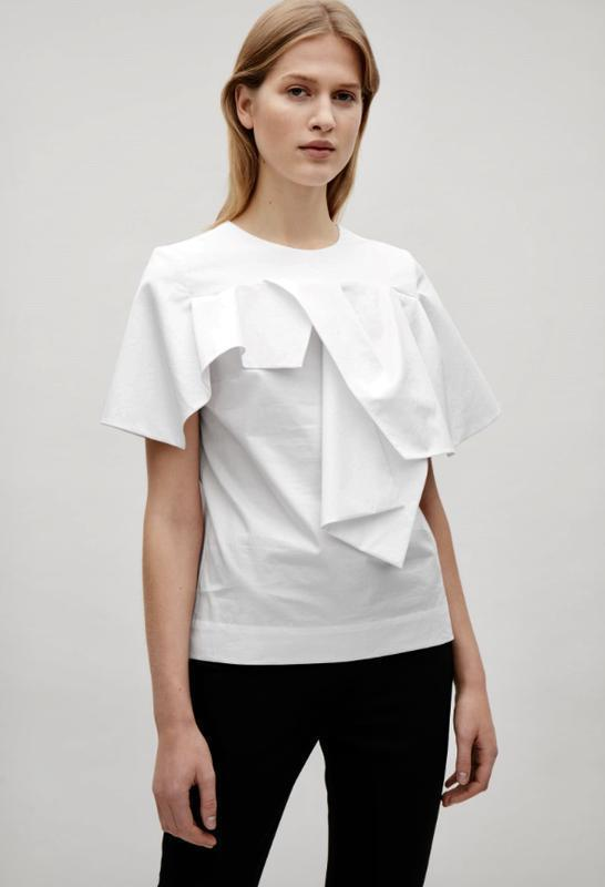 Блуза белая cos