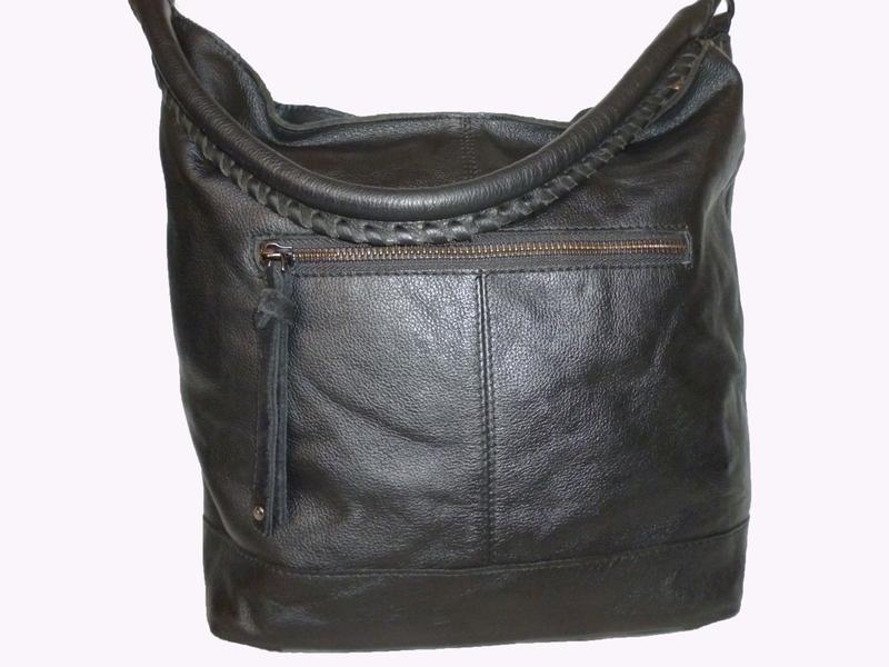 Стильная вместительная сумка из натуральной кожи hotter - Фото 2