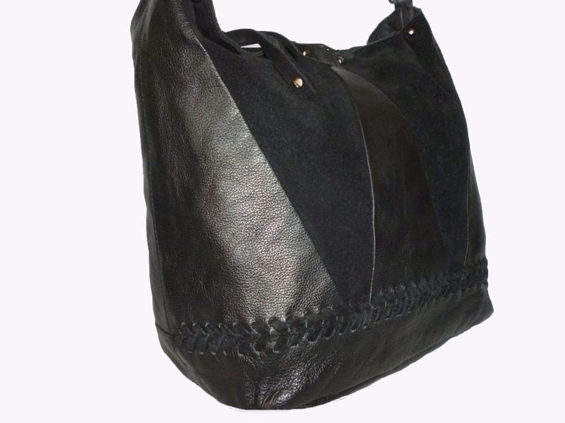 Стильная вместительная сумка из натуральной кожи hotter - Фото 3