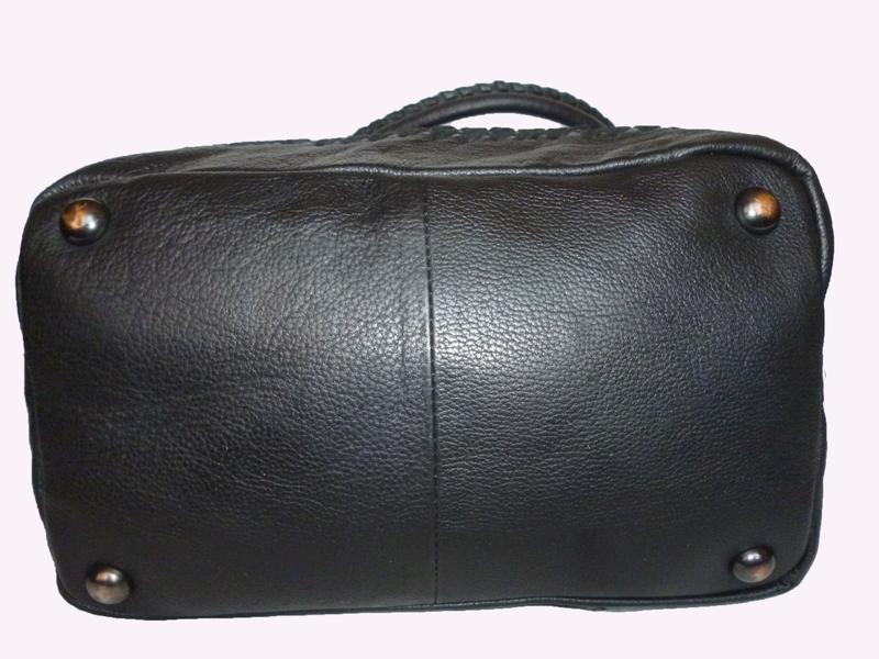 Стильная вместительная сумка из натуральной кожи hotter - Фото 4