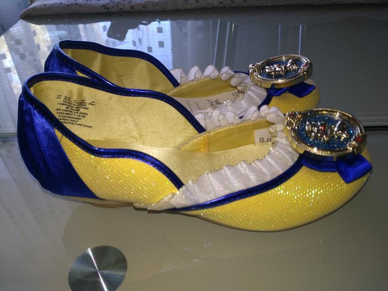 Оригинальные нарядные туфельки