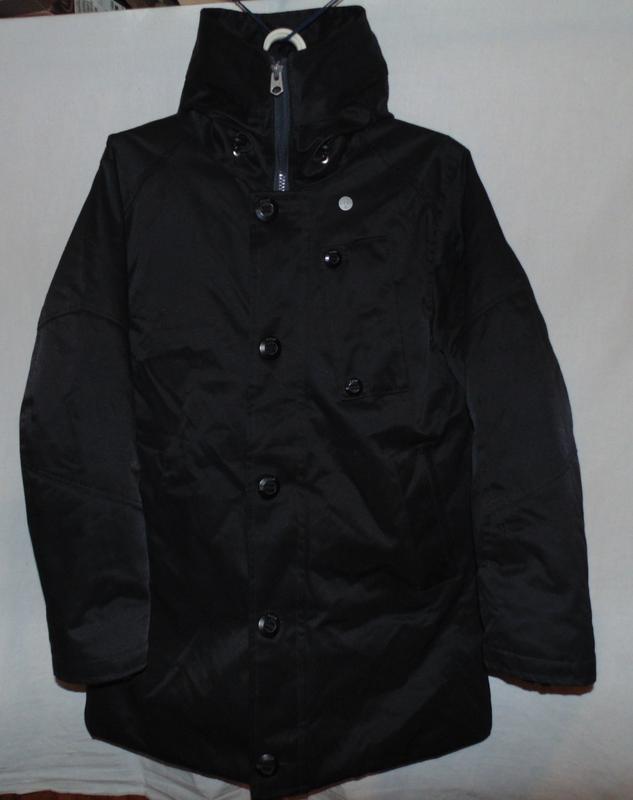 Куртка парка зимняя пуховик g-star raw оригинал по сути новая ... - Фото 2