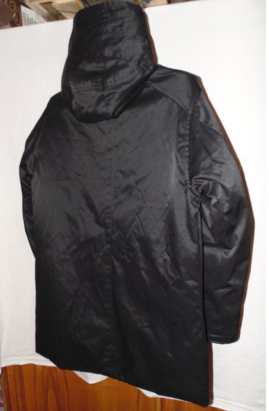 Куртка парка зимняя пуховик g-star raw оригинал по сути новая ... - Фото 4